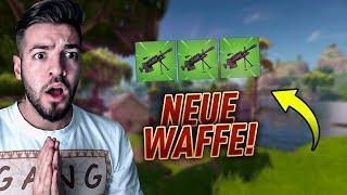 Fortnite new LMG WAFFE is coming + waiting for *LEGENDARY* SKIN!