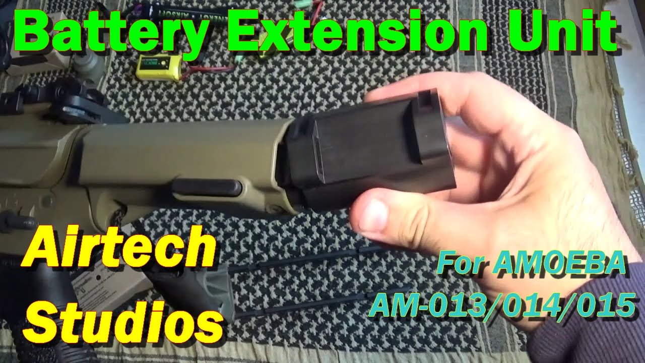 Ares Amoeba battery extension black