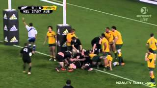wallabies handing all blacks a lesson by Alan Jones. ( What happens when wallabies get cocky )