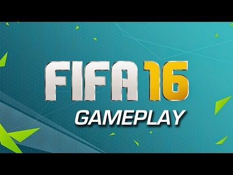 FIFA 16 - Borussia Dortmund - Man City - szybki mecz treningowy.
