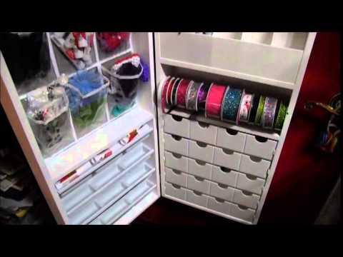 Jinger Adams Craft Armoire - YouTube