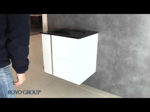 tiroir en bois avec glissières g2/ enlever et installer le tiroir