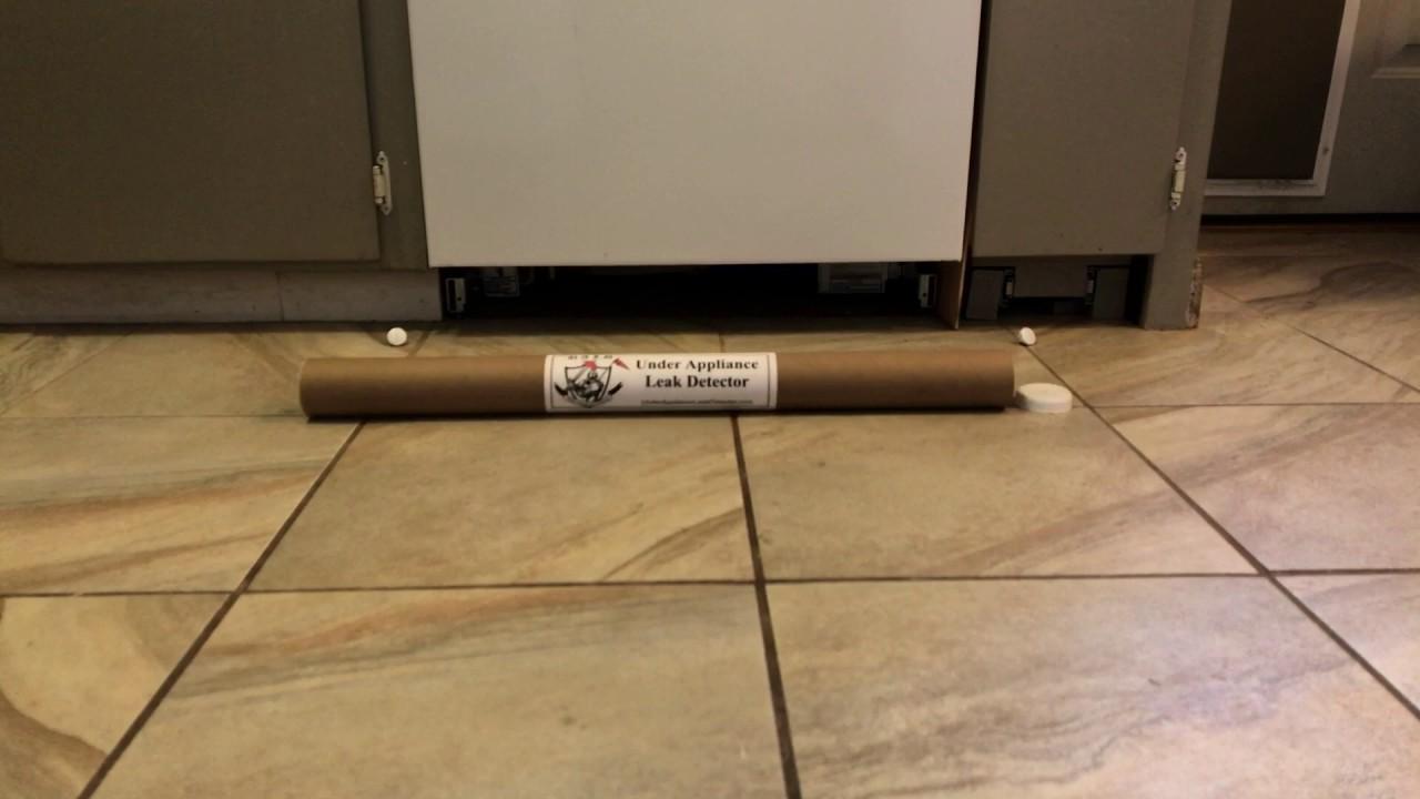 Installation of an under appliance leak detector for a dishwasher installation of an under appliance leak detector for a dishwasher dailygadgetfo Choice Image