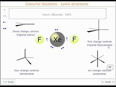 The Lewis structure of xenon difluoride  YouTube