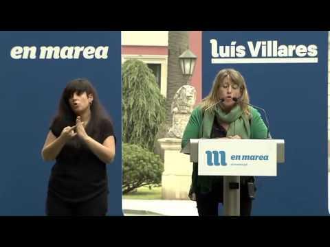 Carmen Santos - Mitín Vilagarcía de Arousa
