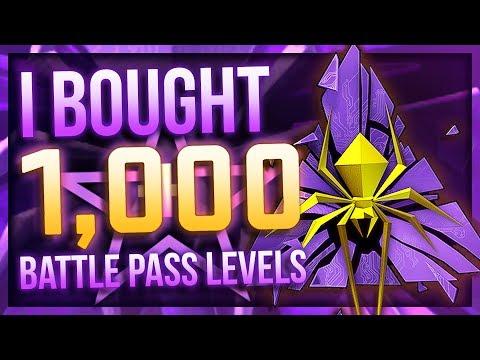 I BOUGHT 1000 BATTLE PASS LEVELS (BIG PROFIT?!)