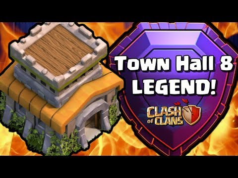 TH8 LEGEND LEAGUE PLAYER! Pro Tips and Attack Strategy with Clash Bashing | Clash of Clans