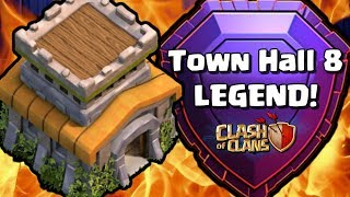 TH8 LEGEND LEAGUE PLAYER! Pro Tips and Attack Strategy with Clash Bashing   Clash of Clans
