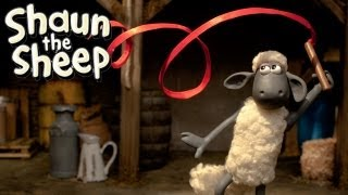 Shaun the Sheep - Championsheeps - Ribbon (OFFICIAL VIDEO)(Subscribe to Shaun the Sheep's channel for more baa-rilliant videos! http://bit.ly/subscribetoshaun Shaun finishes his Ribbon routine with a flourish -- leaving the ..., 2012-08-10T11:57:56.000Z)