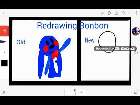Redrawing Bonbon Speedpaint