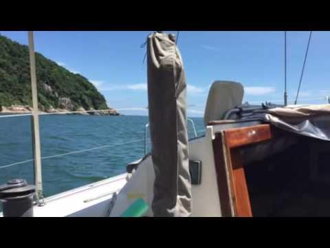 SailBrasil - relaxing wayting the wind get to 9 knots!