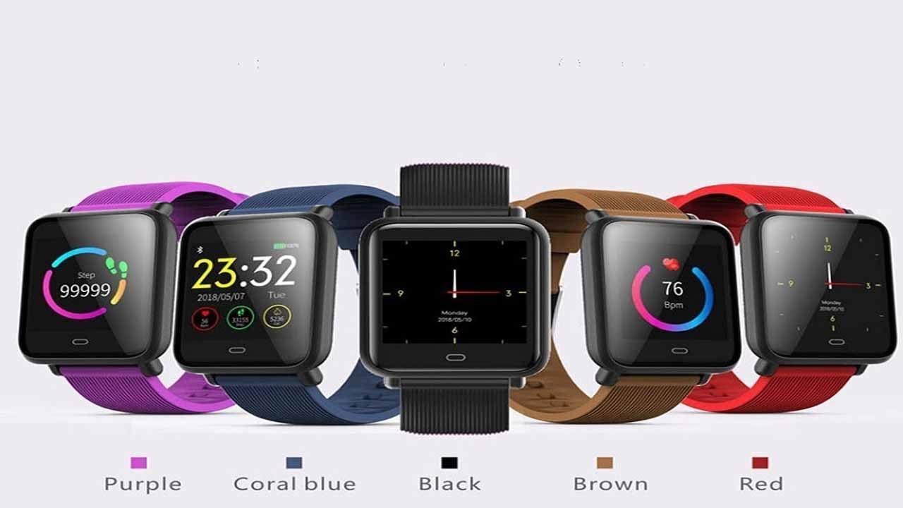 Multi Dial Q9 Smart watch IPX67 Heart Rate Monitor Blood Pressure  Waterproof Sports Smart Watch