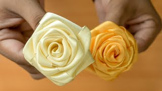 Realistic and Super Easy Ribbon Flowers: Today I am excited to feat...