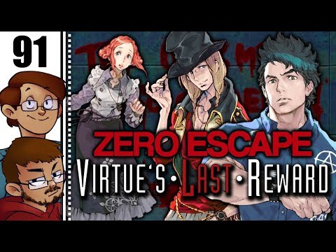 Let's Play Zero Escape: Virtue's Last Reward Part 91 - Q: The Worst Room In The Game