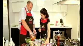 Mrs Balbir Cooks Tandoori Chicken Tikka Salad With Patak's