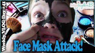 MOST PAINFUL FACE MASK EVER! Vlog Day #41 || Jayden Bartels