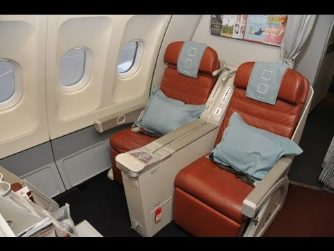 SriLankan Airlines Business Class, A330, Frankfurt - Colombo