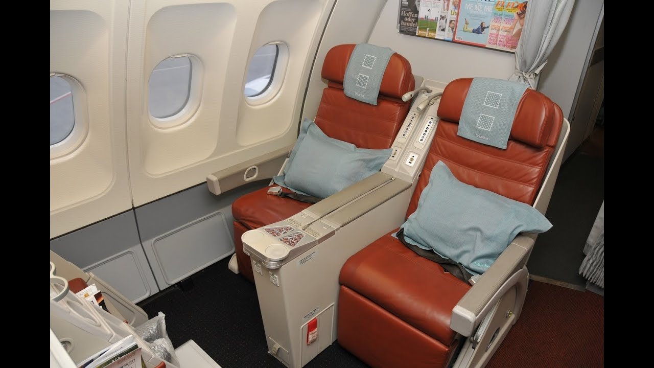 Srilankan Airlines Business Class A330 Frankfurt