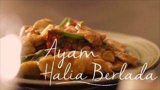 Resipi Mudah & Cara Masak Ayam Halia Berlada Kredit: Maggi Malaysia.
