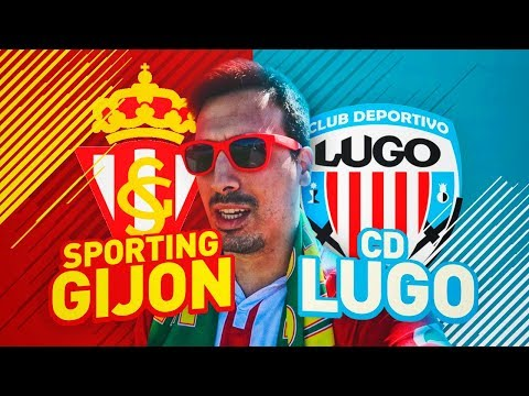 """Sporting vs Lugo (2-0)   """"1ª Victoria""""   Vlog en Gijón y Post Partido   Jornada 2 ; Liga 123 2017/18"""