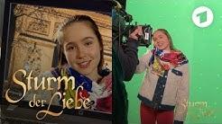 Videoanruf aus Paris - Greenscreen-Dreh mit Paulina Hobratschk | Sturm der Liebe
