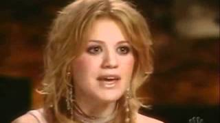 Kelly recording Behind These Hazel Eyes in studio