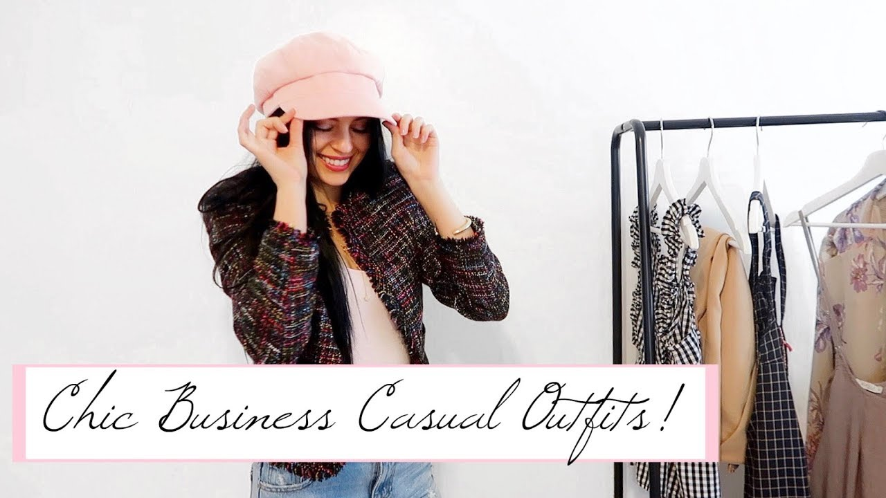 [VIDEO] - Business Casual Lookbook | 7 Affordable Chic Outfits! 2