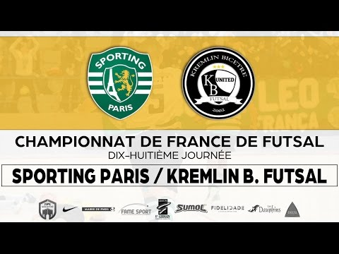 Sporting Paris - KB Futsal 11/03/17