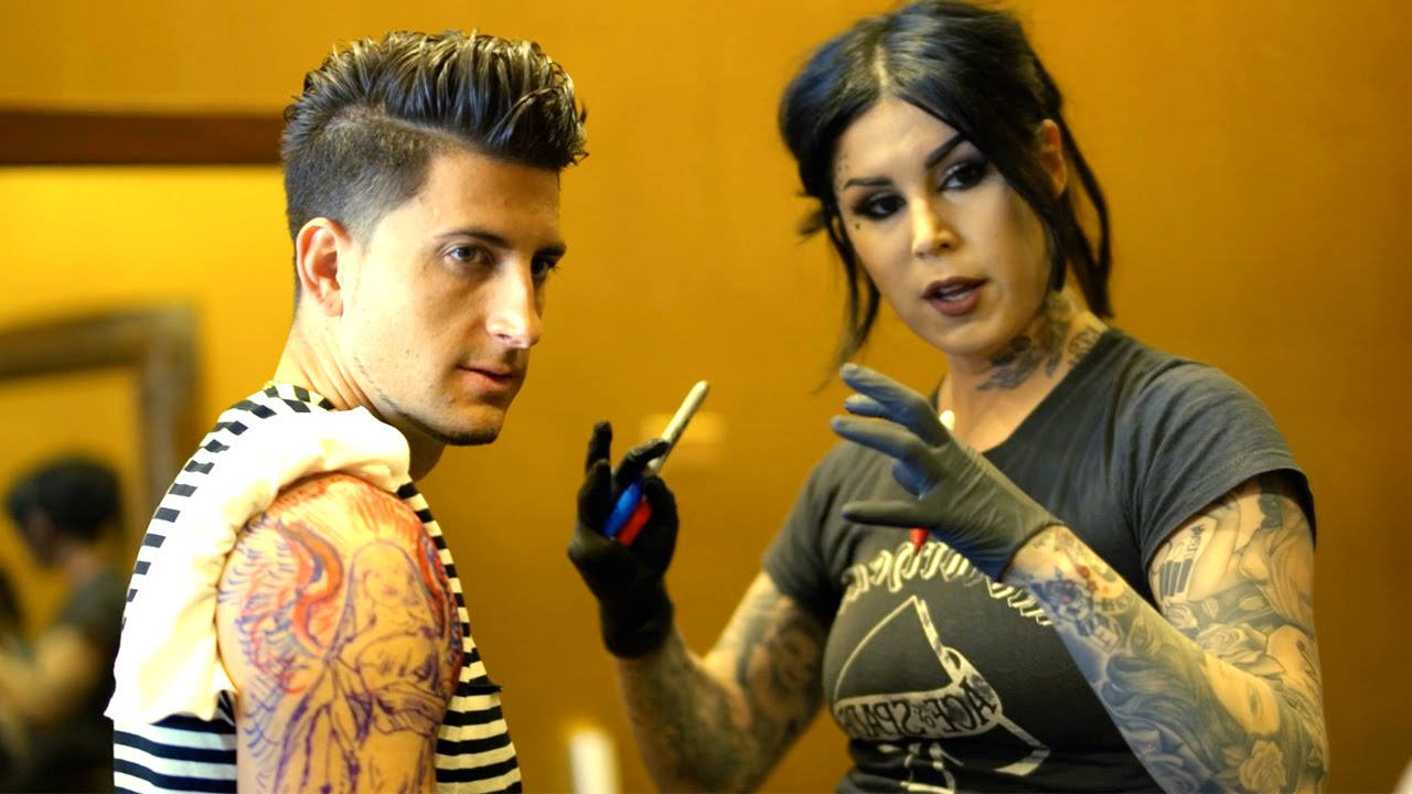Getting a tattoo from kat von d doovi for How to get tattooed by kat von d