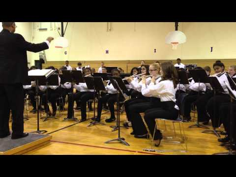 Crete Monee Middle School Winter Band Concert 2013 video C