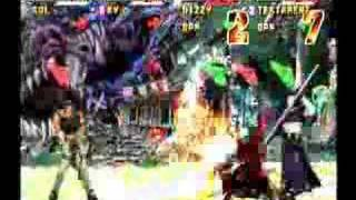 Guilty Gear Isuka :  Sol and Ky  vs Dizzy and Testament