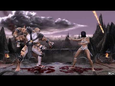 Mortal Kombat IX Mileena Costume 3 Performs All Character Intros PC 60FPS
