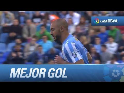 Amrabat marca el mejor gol de la jornada en el Málaga CF - Córdoba CF