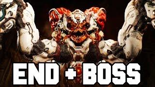 DOOM Final Boss + DOOM Ending Gameplay Walkthrough (Doom 4 PS4/X1/PC 1080p 60fps)