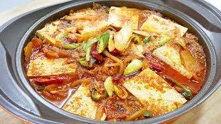 김치찌개 ( Kimchi Stew )