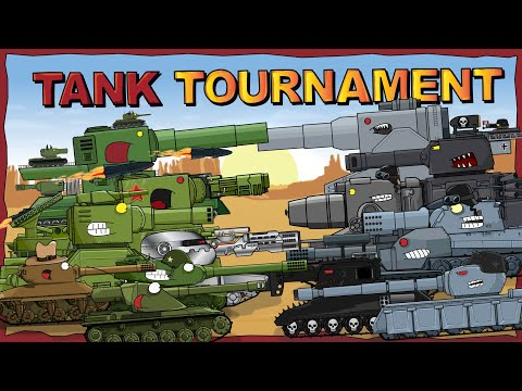 """Tank Tournament - full 2nd season plus Bonus"" - Cartoons about tanks"