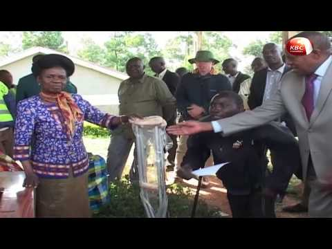 National Fund For Disabled Donate Equipment In Kisii County