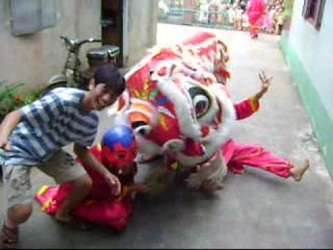 Hoàng Giò vs Múa Lân - Trung Thu 2009