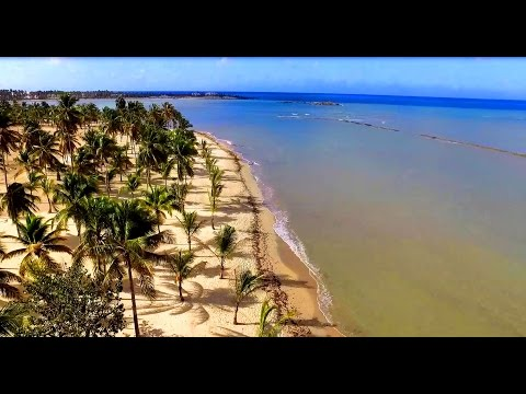 Spectacular Dominican Republic from the air