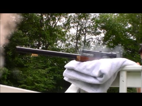 Sighting In The Thompson Center Hawken Muzzleloader