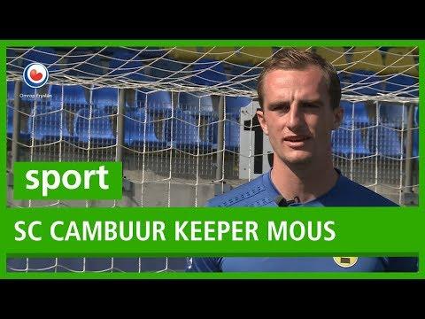 SPORT: Nieuwe keeper Xavier Mous wil met SC Cambuur voor play-offs gaan