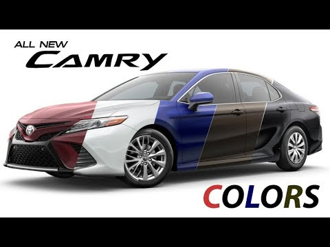 2018 Toyota Camry Colors