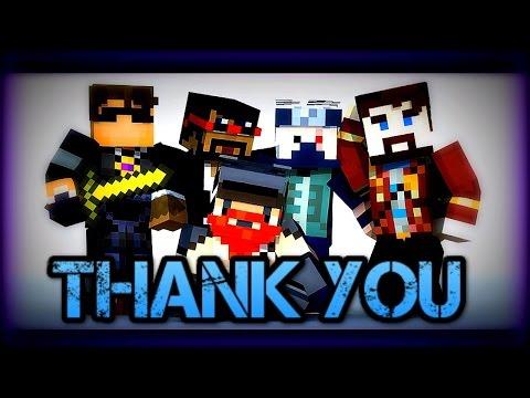 ♪ Thank You | Minecraft Parody | Lyrics