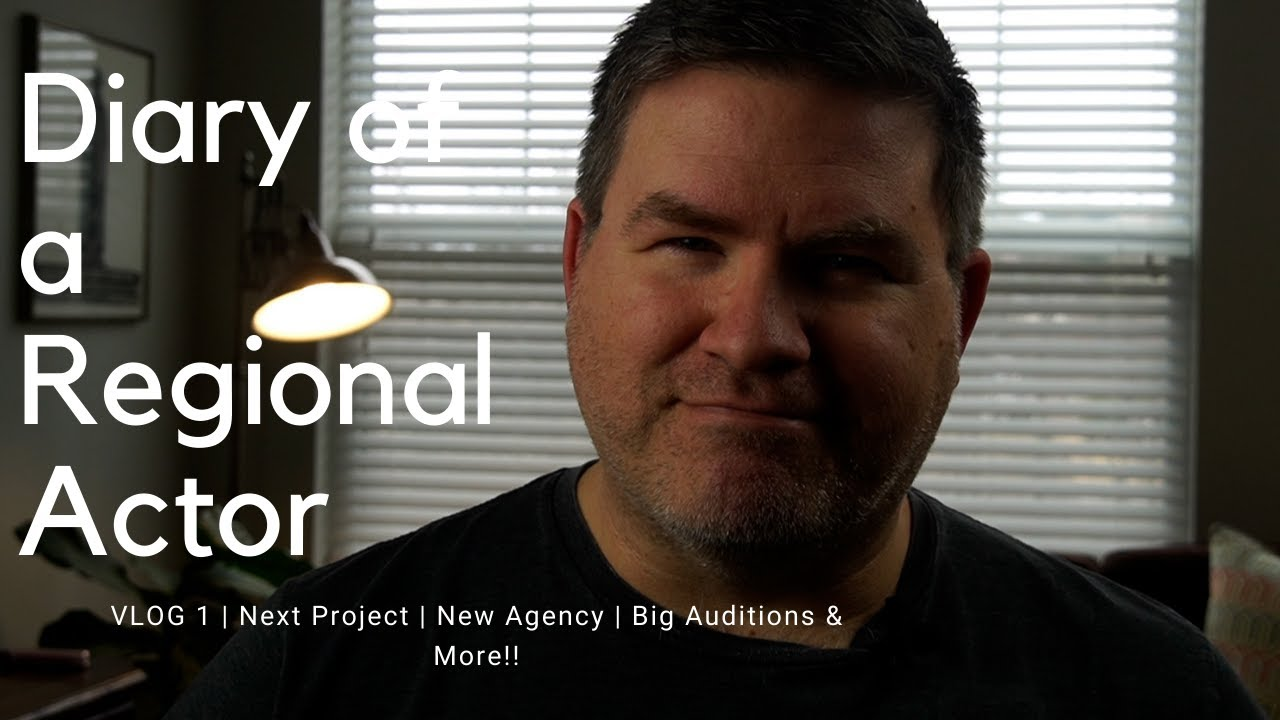 Diary of a regional actor | Signed with new talent agents! | VLOG