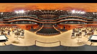 Narodowa Orkiestra Symfoniczna Polskiego Radia - Wirtualny spacer VR 360 video po NOSPR