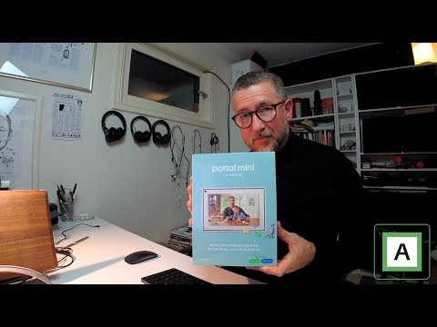 Unboxing Facebook Portal Mini