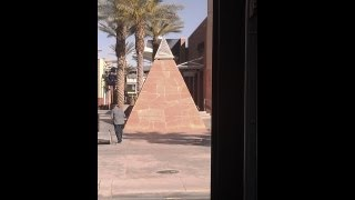 Illuminati Pyramid with the All Seeing Eye in a major Las Vegas Mall