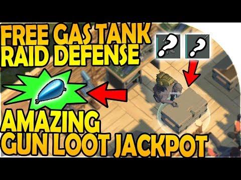 FREE GAS TANK RAID DEFENSE - AMAZING GUN RAID LOOTS - Last Day On Earth Survival 1.7.2 Update