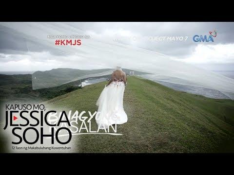 Kapuso Mo, Jessica Soho: Kasalan sa gitna ng bagyo