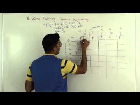 Wildcard Matching Dynamic Programming